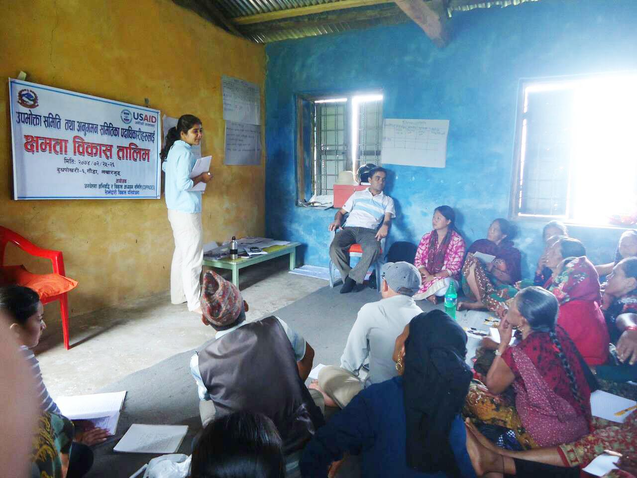 IPC and PMC training of Community Center Gauda new