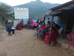FGD at Dhading