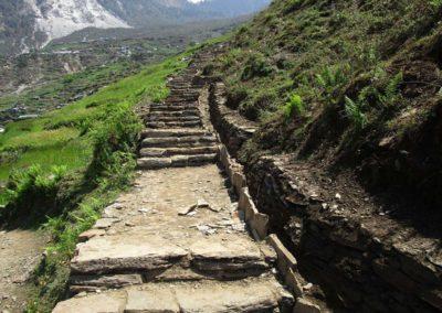 Trail of Unnat Goreto Project Gorkha