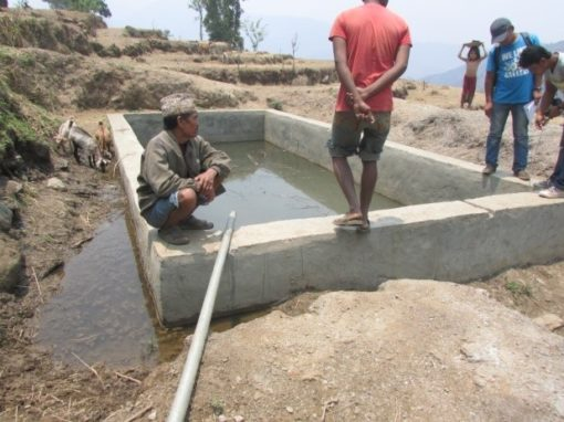 Damage level assessment of community infrastructures in Ladagada and Pokhari VDCs