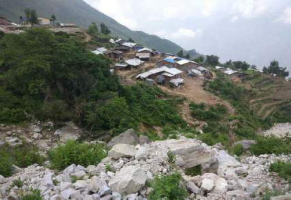 Engineering Assessment to Determine Mansoon Induced Risk at Displacement Sites