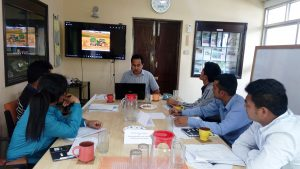 Training to field researchers for effective data collection method 1