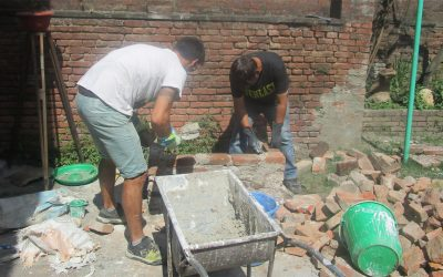 Lime Construction on Progress