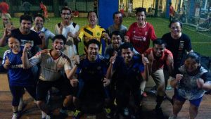 SWN team pose after footsal 2015 09 25