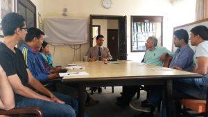Talk Programme by Mr. Arun..... 2015 10 16