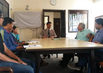 Talk Programme by Mr. Arun..... 2015-10-16