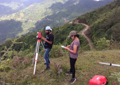 Land survey and mapping for private clients