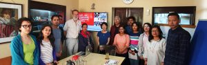 CoST Team meet up at scott wilson nepal