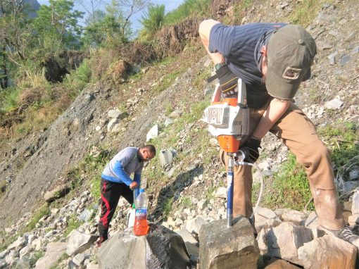 BOULDER: Accounting for Boulders in Landslides-flood Disaster Evaluation and Resilience