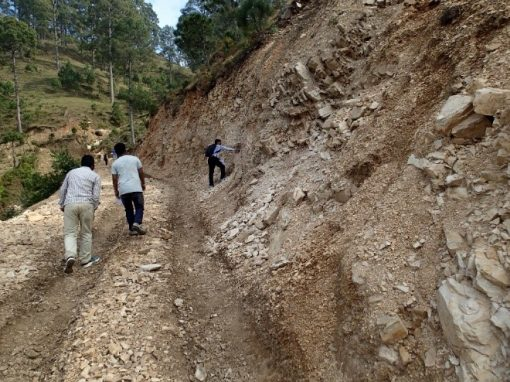 Environment Friendly Rural Road Construction Support Activity