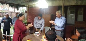 Scott Wilson Nepal team celebrated the birthday of Mr. Sarad Gaihre at the office on 14th Oct 2019 with delicious cake