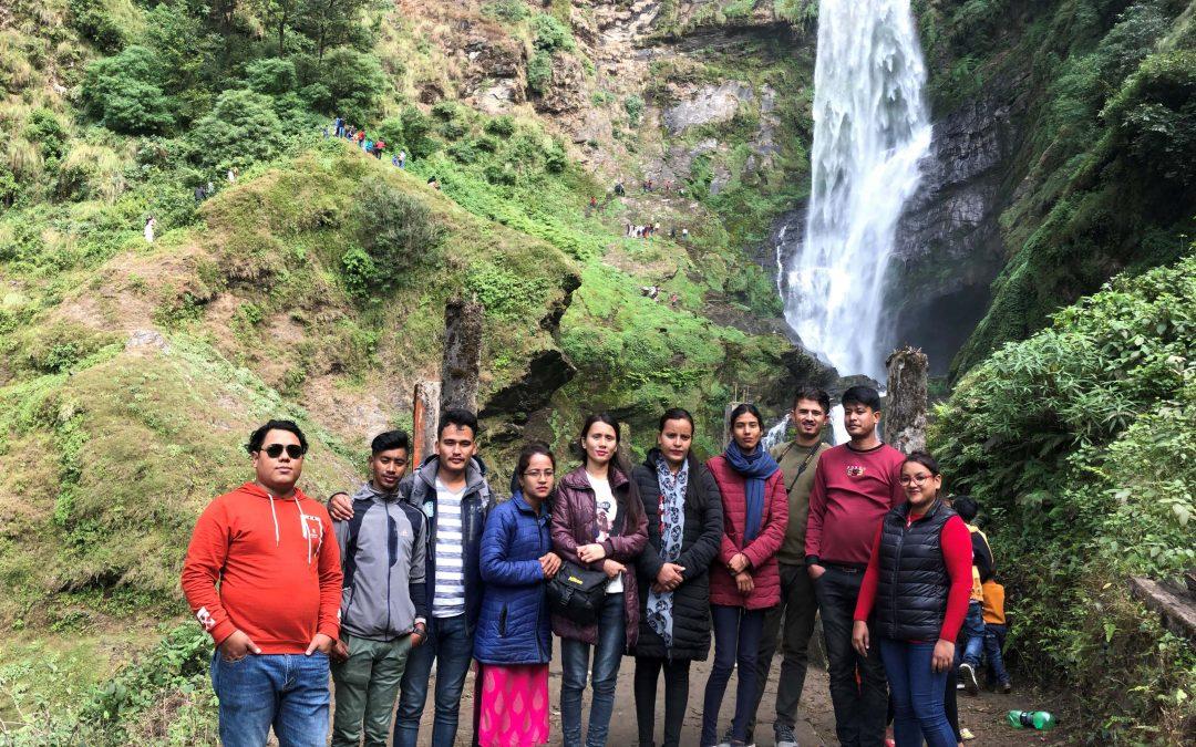 EFSR team visit to Pokali, Okhaldhunga