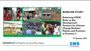 1. final presentation on baseline study