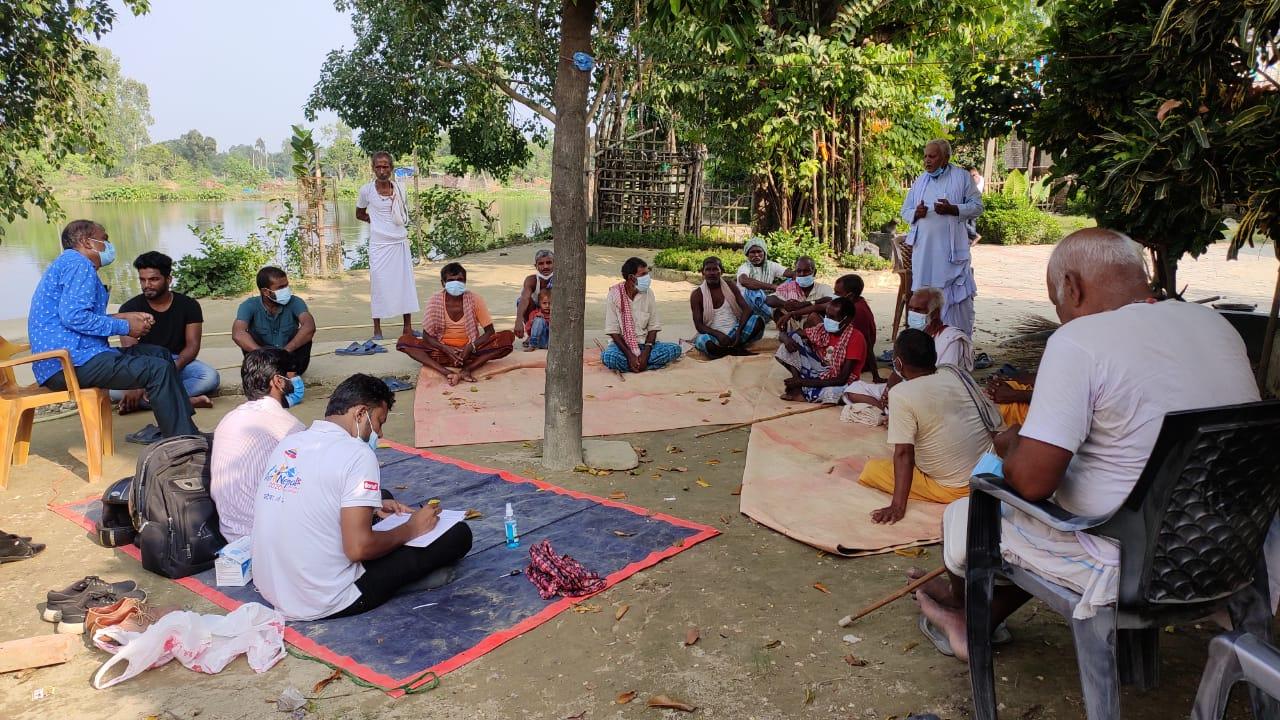 FGD with Men at Shivapur JNK 19